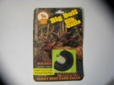 Nos Berry Best Calls Berry Deceiver Elk Mouth Diaphragm Reed Call