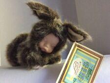 Ashley Belle Collectibles Baby Bunny Velvet Porcelain Face