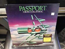 Passport Cross-Collateral LP Atco 1975 DJ PROMO COPY EX [German jazz fusion]