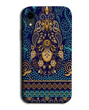 Tribal Turquoise Green and Gold Pattern Phone Case Cover Design Floral G642