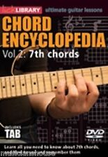 Lick Library acorde Enciclopedia VOL.2 aprender a tocar guitarra Blues escalas DVD 7th