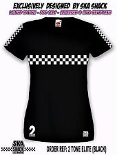 Ladies SKA T Shirt. Small to XXL. Womens scooter t shirt - Exclusive collectors.