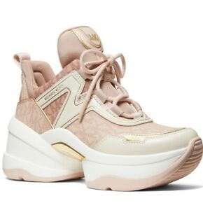 Michael Kors Women's Olympia Trainer Sneakers Soft Pink Ballt