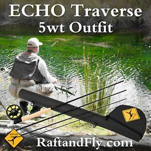 "Echo Traverse Kit 5wt 9'0"" Fly Rod Outfit - Lifetime Warranty - Free Shipping"