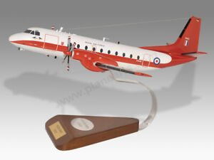 Hawker Siddeley Andover E3A Solid Wood Mahogany Handmade Desktop Airplane Model