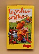 Jeu amusant enfants HABA - Le Voleur de Carottes - à partir de 4 ans