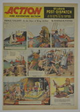 PRINCE VALIANT Color SUNDAY PAGE King Features Foster 1/12/1941, #205 SUPERMAN