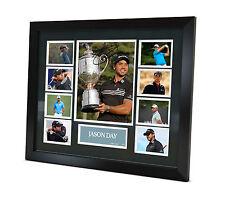 Jason Day Signed photo Framed Golf Memorabilia Limited Edition PGA Champion 2015