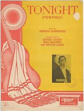 1941 VINTAGE TONIGHT (PERFIDIA) SHEET MUSIC - JIM GUSSEY, ALBERTO DOMINGUEZ