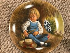 The Bradford Exchange Collector Plate:  LITTLE BOY BLUE
