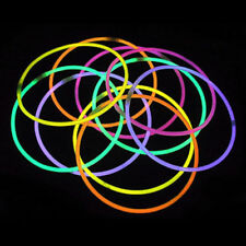 "100 22"" Glowsticks Light Stick Fun Party Glow Necklaces"
