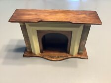 Miniature Dollhouse 1:12 Fireplace wood