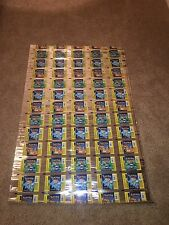 Pokemon Booster Packs Base Set Empty Wrappers Uncut Sheet (Wizards Of The Coast)