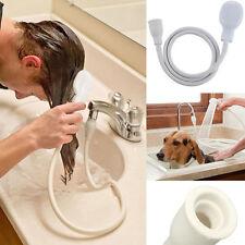 Hair Dog Pet Shower Spray Hose Bath Tub Sink Faucet Attachment Washing sprays