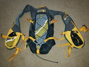 Nathan Hydration Pack Vest Backpack Running Run Water Black Neon Yellow