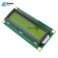162 16x2 1602 Character LCD Display Module HD44780 Controller Yellow Blacklight