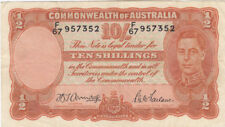 Australia 1942 Armitage McFarlane Ten Shillings gVF