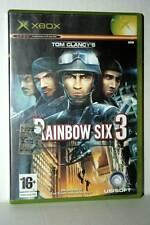 RAINBOW SIX 3 GIOCO USATO BUONO STATO XBOX EDIZIONE ITALIANA PAL CC4 41721