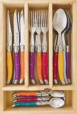 LAGUIOLE by Louis Thiers 24 Piece Cutlery Set - Multi - DAMAGED WRAP  - RRP $349
