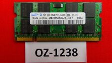 2x 2GB Samsung M470T5663QZ3-CF7 6400S 4GB DDR2 Sodimm 800mhz Ram Kit