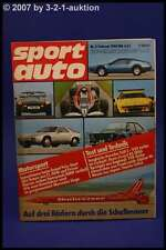 Sport Auto 2/80 TVR Audi 200 Alpine A310 928 S + Poster
