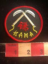 Kama Martial Arts Patch 01Rn