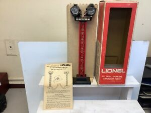 S302B LIONEL OPERATING SEARCHLIGHT TOWER 6-2314