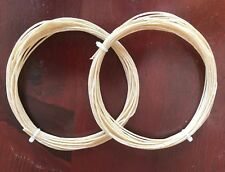 Authentic Natural Colored Genuine 30 Year-old Tennis Racket Gut