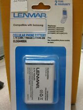 Lenmar CLSG446BA Cell Phone Battery Samsung New in Package Free Ship