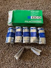 FUJICHROME PROFFESIONAL 100D roll film RDP 120 EXPIRED 04/1997 Box Of 5