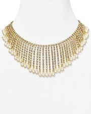 Kate Spade Seaview Spray Statement Bridal Necklace NWT RARE SOLD OUT CLASSIC!