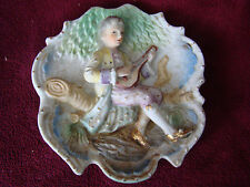 Vintage Ceramic Decorative Sculptural Plate Wall Hanging Eisons China 51505