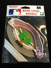 Dodger Stadium 3 Dimensional Color Sticker - Package of 3 - Los Angeles - MLB