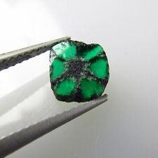 Natural Trapiche Emerald Muzo Colombia Authentic Gem Emerald Crystal Stone Rare