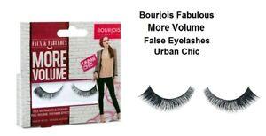 Bourjois Fabulous More Volume False Eyelashes Urban Chic Adhesive Included