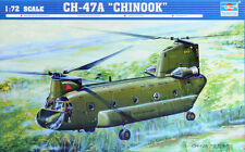 Trumpeter Boeing CH-47A Chinook helicopter model kit 1/72 scale boxed