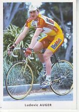 CYCLISME carte cycliste LUDOVIC AUGER équipe BIG MAT AUBER 93