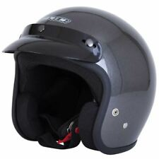 SPADA Motorcycle Helmet Open Face Plain Anthracite L 285163