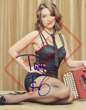 8.5x11 Autographed Signed Reprint RP Photo Tina Fey Sexy