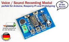 ISD1820 voice board sound recording Modul für Arduino Raspberry Pi