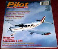 Pilot Magazine 1997 January Piper Cherokee Six,B-25 Mitchell,Schweizer