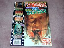 FANGORIA # 157, The Dentist, Henry 2, Day of the Beast, Free shipping in USA