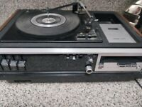 Vrg Panasonic RS-257DS Pana-Ject FM/AM, Cassette 8 track/Phono Stereo System.