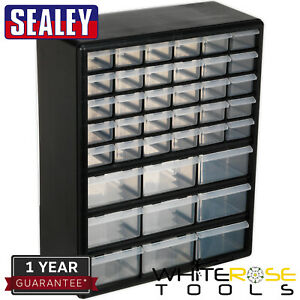 Sealey Cabinet Box 39 Drawer Tool Storage Accessory Fixings Screws Nuts Bolts
