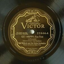 78rpm - Jazz- SHILKRET'S HIGH HATTERS: My Future Just Passed & Get Happy