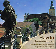 CD album: haydn: Concertos pour Orgue. Ton Koopman. Philips. E