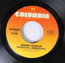 Country 45 Johnny Duncan - Thinkin' Of A Rendezvous / Love Should Be Easy On Col