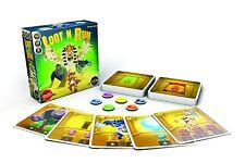 Loot N Run Family Card Game Iello Games IEL 00048 Mummy Werewolf Frank Halloween