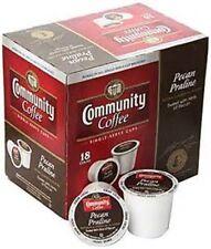 Community Coffee Pecan Praline Medium Roast Coffee Keurig K-Cups 18 Count $SAVE$