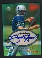 Brock Huard 1999 Collectors's Edge Football signed autograph auto Trading Card